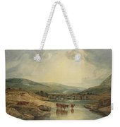 Bridge Over The Usk Weekender Tote Bag