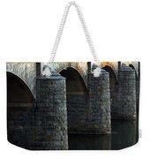 Bridge Pillars Weekender Tote Bag