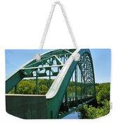 Bridge Spanning Connecticut River Weekender Tote Bag