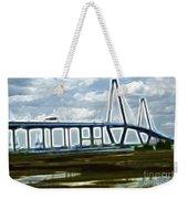 Bridge To Charleston Weekender Tote Bag