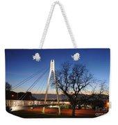 Bridge To Twilight Weekender Tote Bag