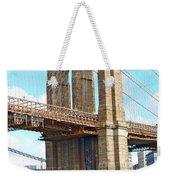 Bridge View One Weekender Tote Bag