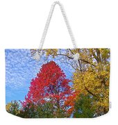 Bright Autumn Color Weekender Tote Bag