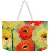 Bright Colored Flowers Shine Weekender Tote Bag