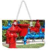 Bright Colored Machanics Weekender Tote Bag