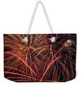 Bright Colorful Fireworks Weekender Tote Bag