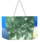 Bright Glow Angle Wings Weekender Tote Bag