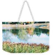 Bright Lake Weekender Tote Bag