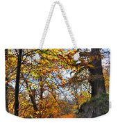 Bright Leaves Weekender Tote Bag