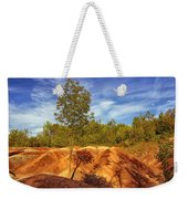 Bright Light On The Badlands Weekender Tote Bag