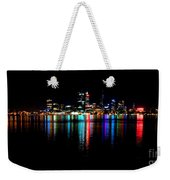 Bright Lights Big City Weekender Tote Bag