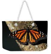 Bright Orange Monarch Butterfly Weekender Tote Bag