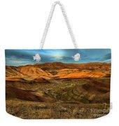 Brightly Painted Hills Weekender Tote Bag