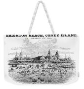 Brighton Beach Hotel, 1880 Weekender Tote Bag