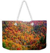 Brilliant Color Trees Weekender Tote Bag