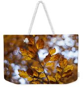 Brilliant Leaves Weekender Tote Bag