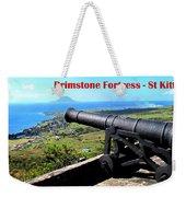 Brimstone Fortress Poster Weekender Tote Bag