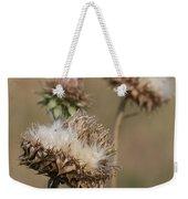 Bristle Thistle - Carduus Nutans Weekender Tote Bag