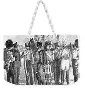British Army, 1855 Weekender Tote Bag