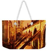 British Christian Cathedral  Weekender Tote Bag