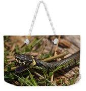 British Grass Snake Weekender Tote Bag