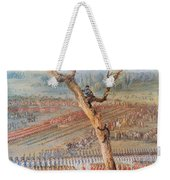British Troops Surrender At Yorktown Weekender Tote Bag