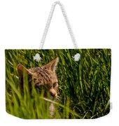 British Wild Cat Weekender Tote Bag