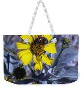 Brittlebush Bee Weekender Tote Bag