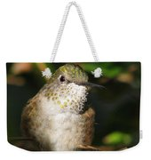 Broadbill Hummingbird Weekender Tote Bag
