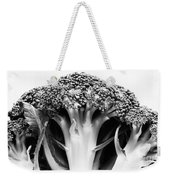 Broccoli On White Background Weekender Tote Bag