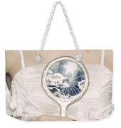 Broken Handmirror Weekender Tote Bag by Joana Kruse