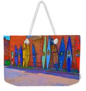 Broken Kayaks  Weekender Tote Bag