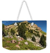 Brokeoff Mountain Weekender Tote Bag