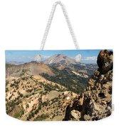 Brokeoff Mountain Peak Weekender Tote Bag