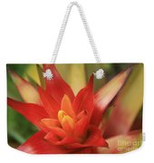 Bromeliad Weekender Tote Bag by Sharon Mau