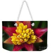 Bromiliad Blossom Weekender Tote Bag