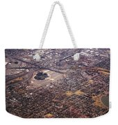 Broncos Stadium Aerial Weekender Tote Bag