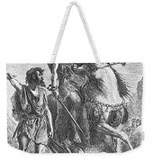 Bronze Age Warrior Weekender Tote Bag by Photo Researchers