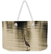 Bronze Lake Weekender Tote Bag