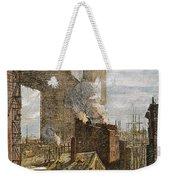 Brooklyn Bridge, 1882 Weekender Tote Bag
