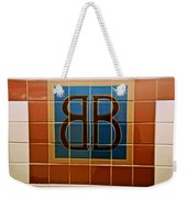 Brooklyn Bridge Station Weekender Tote Bag