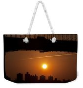 Brooklyn Bridge Sunrise Weekender Tote Bag