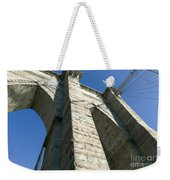 Brooklyn Bridge Tower I Weekender Tote Bag