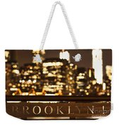 Brooklyn Bubbly Weekender Tote Bag