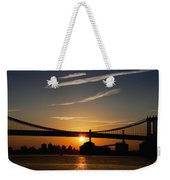 Brooklyn Sunrise Weekender Tote Bag