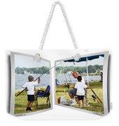 Brothers Fishing - Oof Weekender Tote Bag
