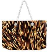 Brown-breasted Hedgehog Erinaceus Weekender Tote Bag