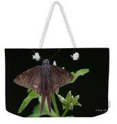 Brown Butterfly Dorantes Longtail Weekender Tote Bag