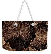 Brown Ivy Weekender Tote Bag