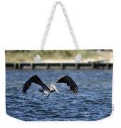 Brown Pelican - Low Flyer Weekender Tote Bag